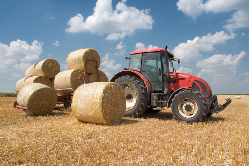 Agriculture - tractor stock photos