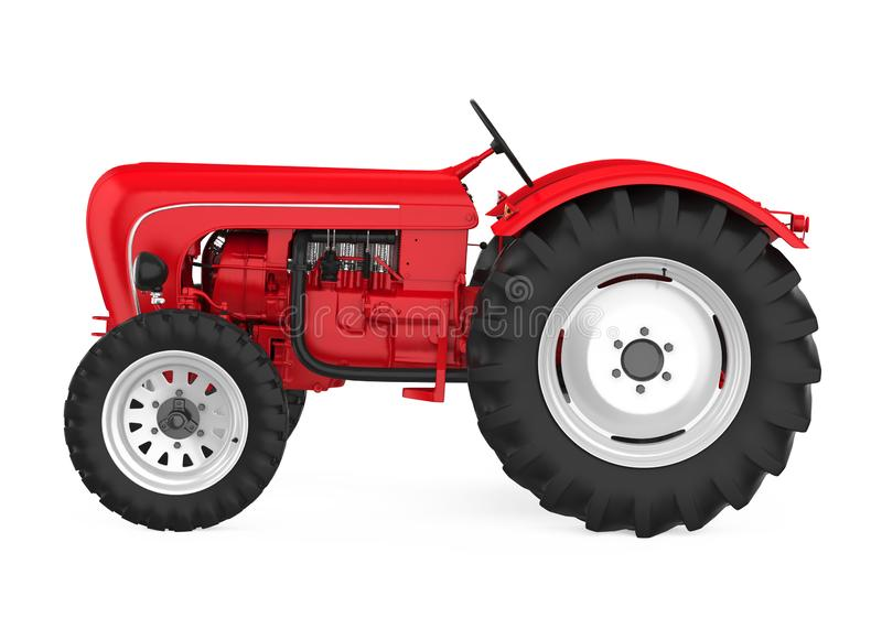 Agriculture Tractor Isolated stock illustration