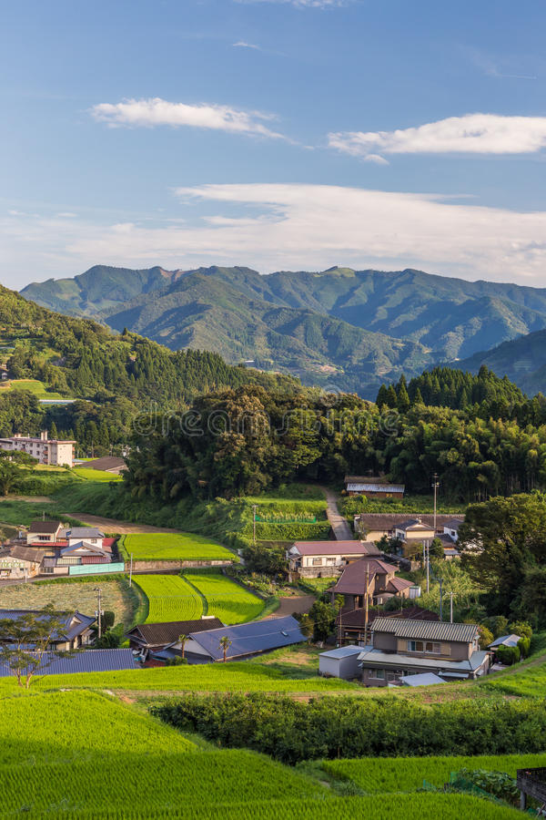 Agriculture village in Takachiho, Miyazaki, Kyushu. Agriculture village in Takachiho, Miyazaki, Kyushu royalty free stock images