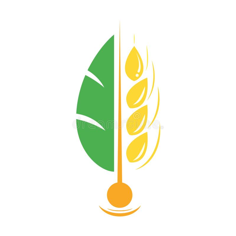 Free Agriculture Wheat Vector Logo Template Icon Deign Stock Photography - 104785422