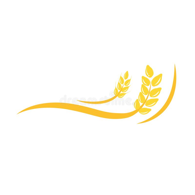 Free Agriculture Wheat Vector Logo Template Icon Deign Stock Photography - 104785882