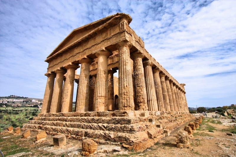 Agrigento, Σικελία στοκ φωτογραφία με δικαίωμα ελεύθερης χρήσης