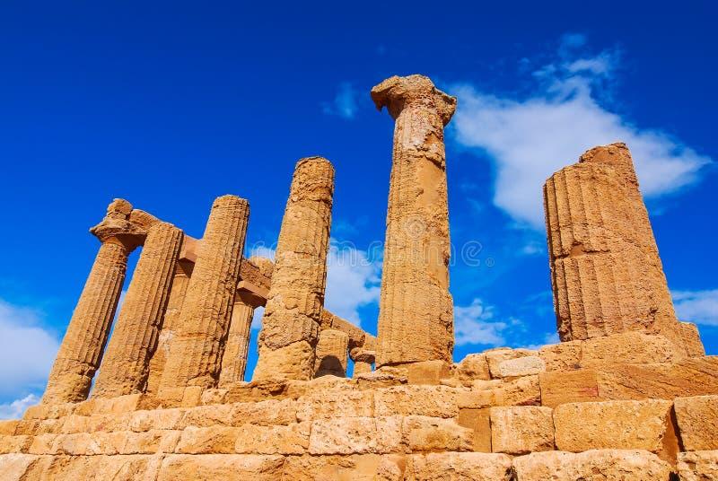 Agrigento, Σικελία στοκ εικόνα