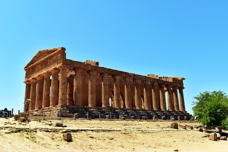 Agrigento-Sicília imagens de stock