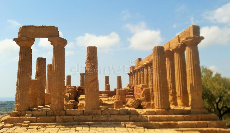 Agrigento Temple stock images