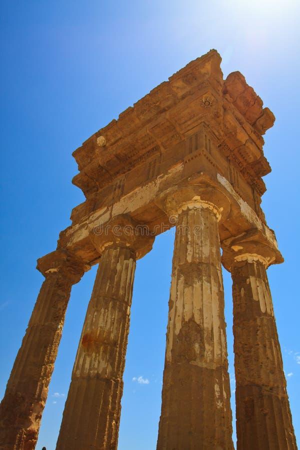 Agrigento - valle de los templos fotos de archivo