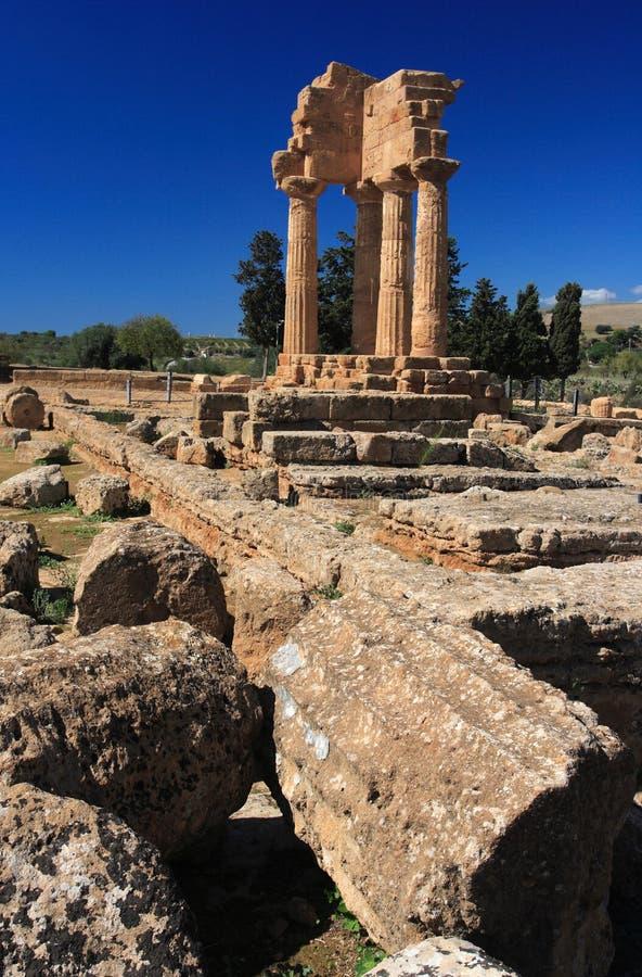 Agrigento, Vallei van de Tempels royalty-vrije stock fotografie