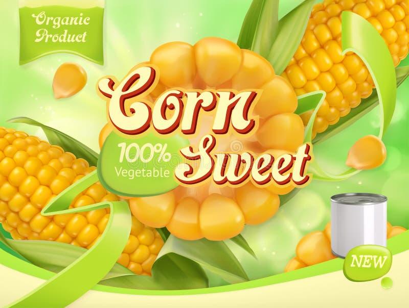 Agro-verwerkt de industrie 3d vector, pakketontwerp stock illustratie