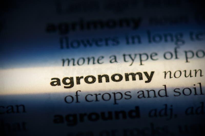 Agronomia immagine stock