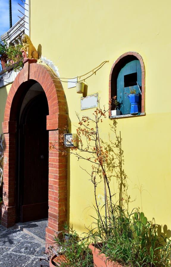 Agropoli Salerno Itália imagens de stock