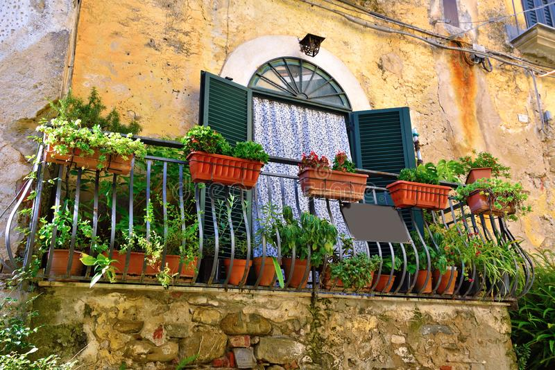Agropoli Salerno Itália fotografia de stock royalty free