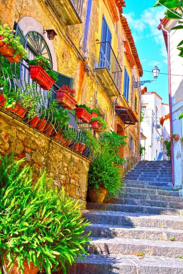 Agropoli Salerno Itália fotografia de stock