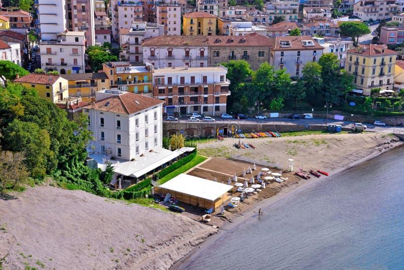 Agropoli Salerno Itália imagem de stock