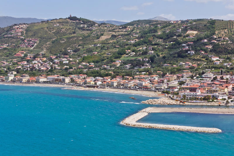 Agropoli San Marco, Salerno stock image