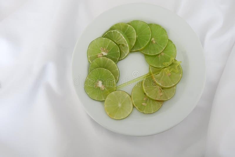 agrumi delle fette del limone immagini stock libere da diritti