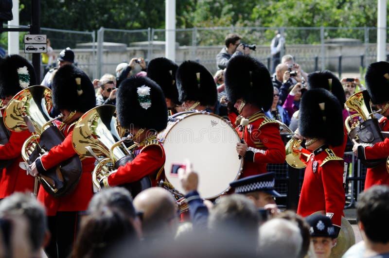 Agrupando-se a cor, Londres 2012 fotos de stock royalty free