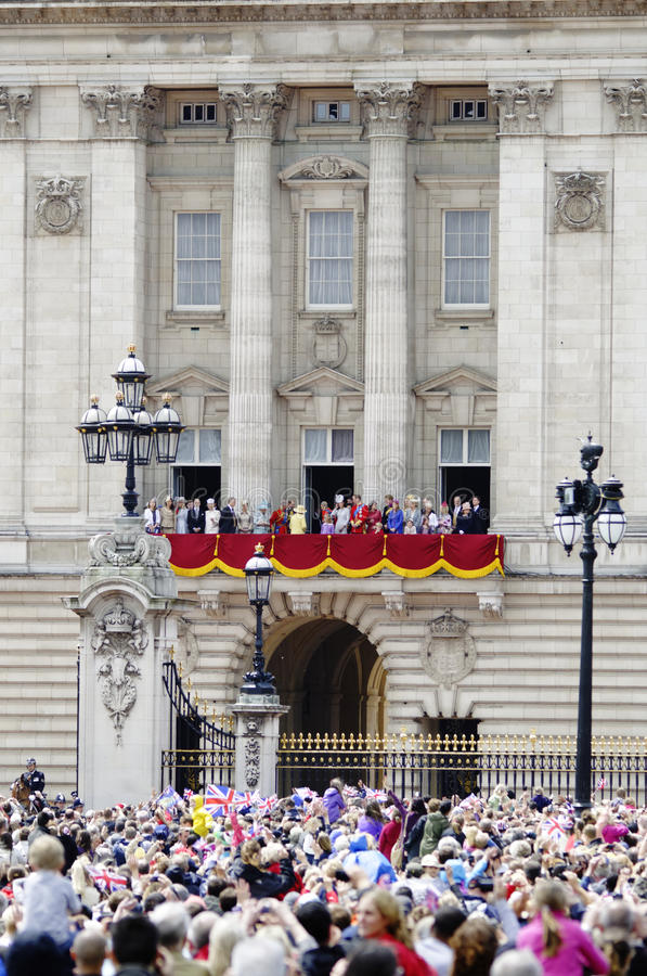 Agrupando-se a cor, Londres 2012 foto de stock royalty free
