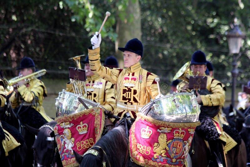 Agrupando-se a cor Londres 2017 Inglaterra imagens de stock royalty free