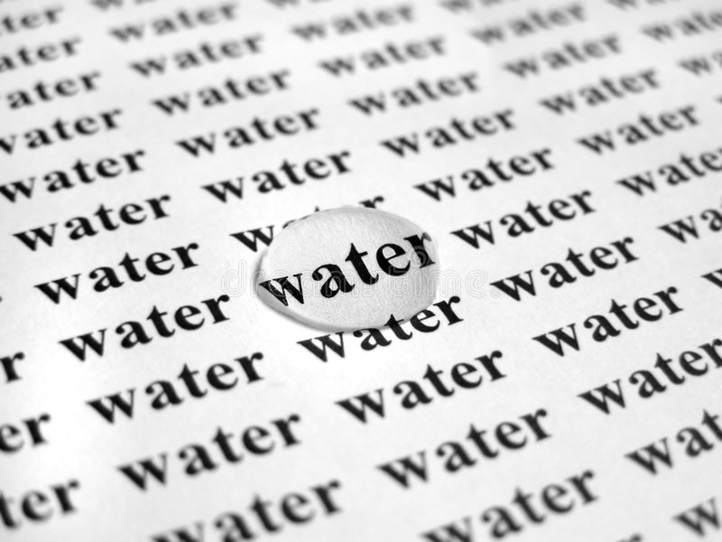 Download Agua imagen de archivo. Imagen de transparente, agua, impreso - 187989