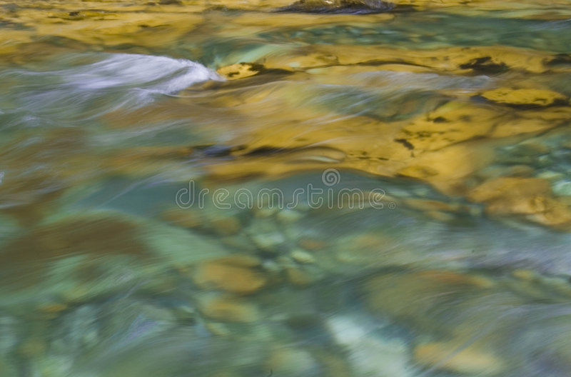 Agua abstracta fotografía de archivo libre de regalías