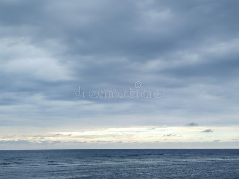 Agua azul imagenes de archivo