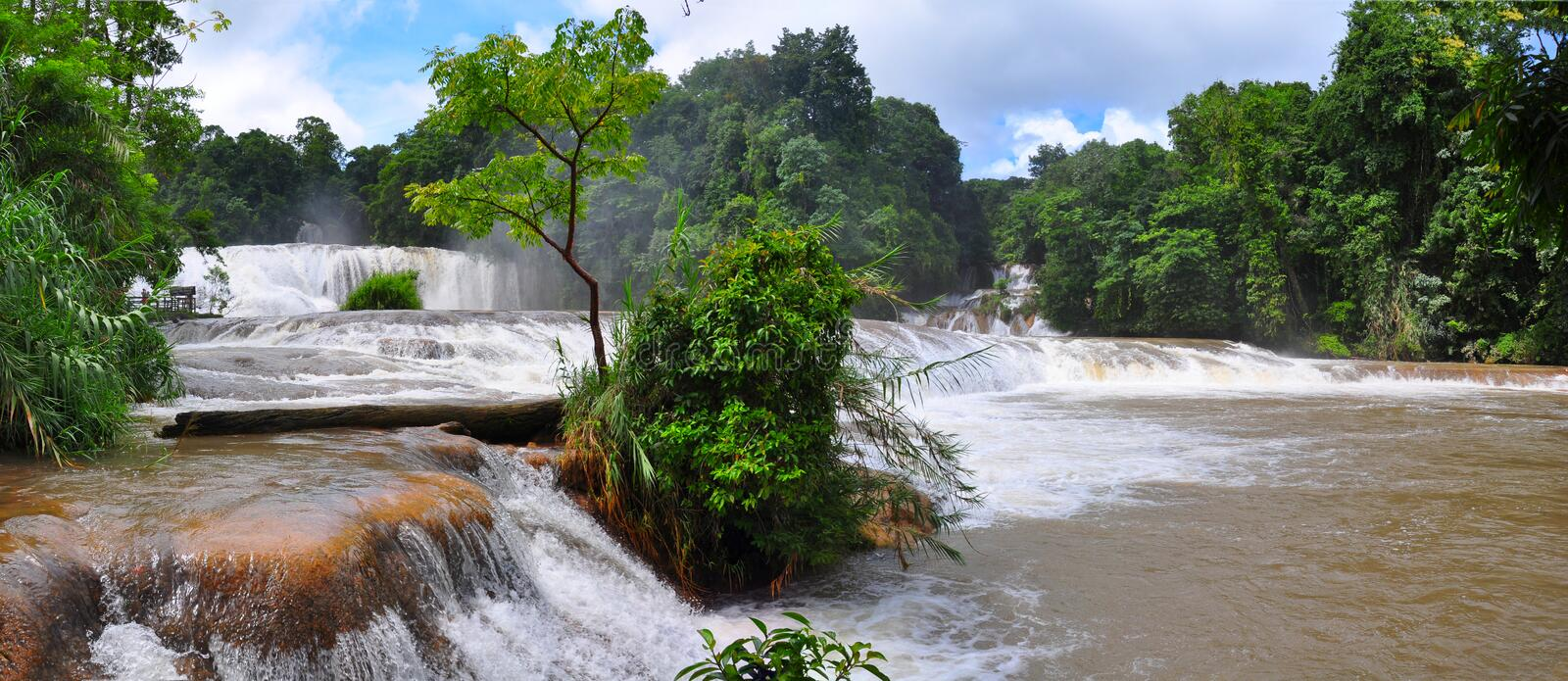 Download Agua Azul Waterfall, Mexico Stock Photography - Image: 16513982
