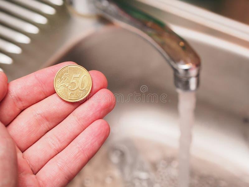 Agua barata imagen de archivo libre de regalías