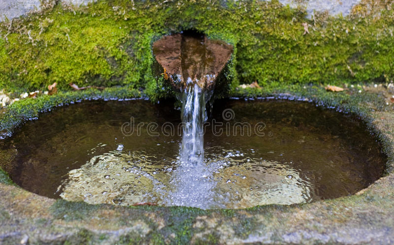 Agua clara fotografía de archivo libre de regalías