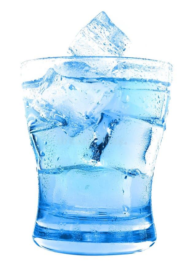 Agua clara en vidrio foto de archivo libre de regalías