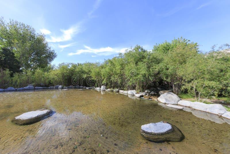 Agua clara estupenda en el coto de Whitewater foto de archivo libre de regalías