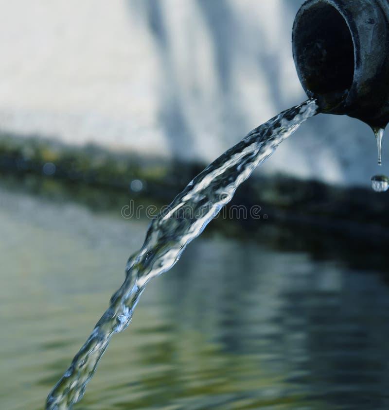 Agua corriente fotografía de archivo libre de regalías