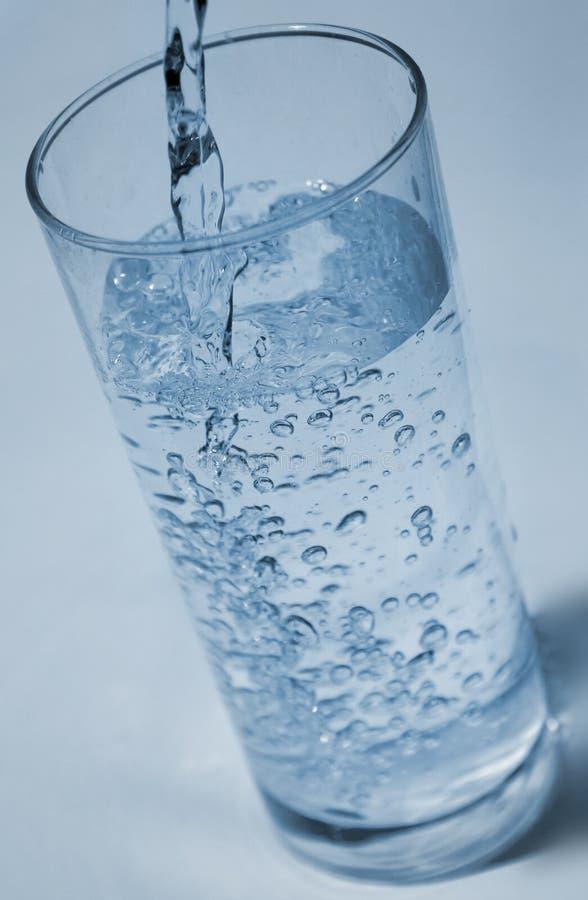 Agua De Colada Imagen de archivo libre de regalías
