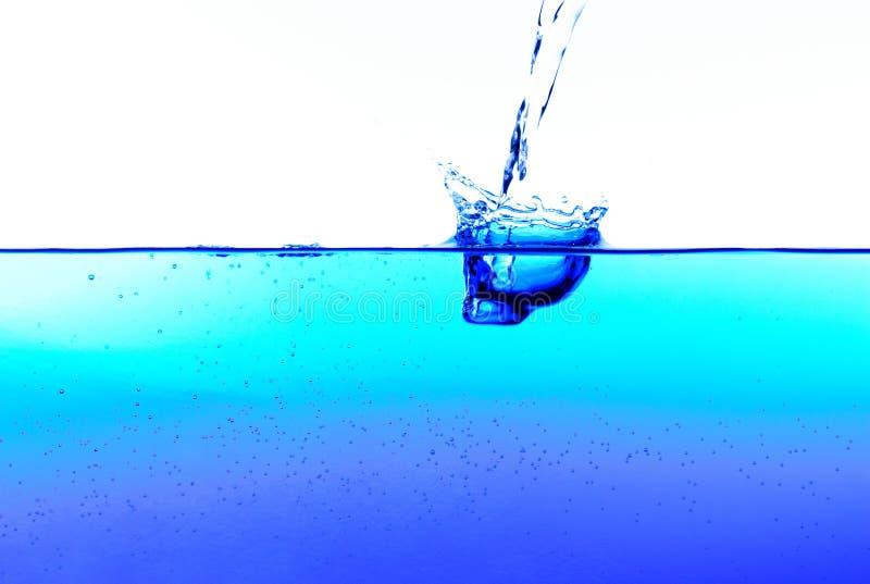 Agua de colada fotografía de archivo