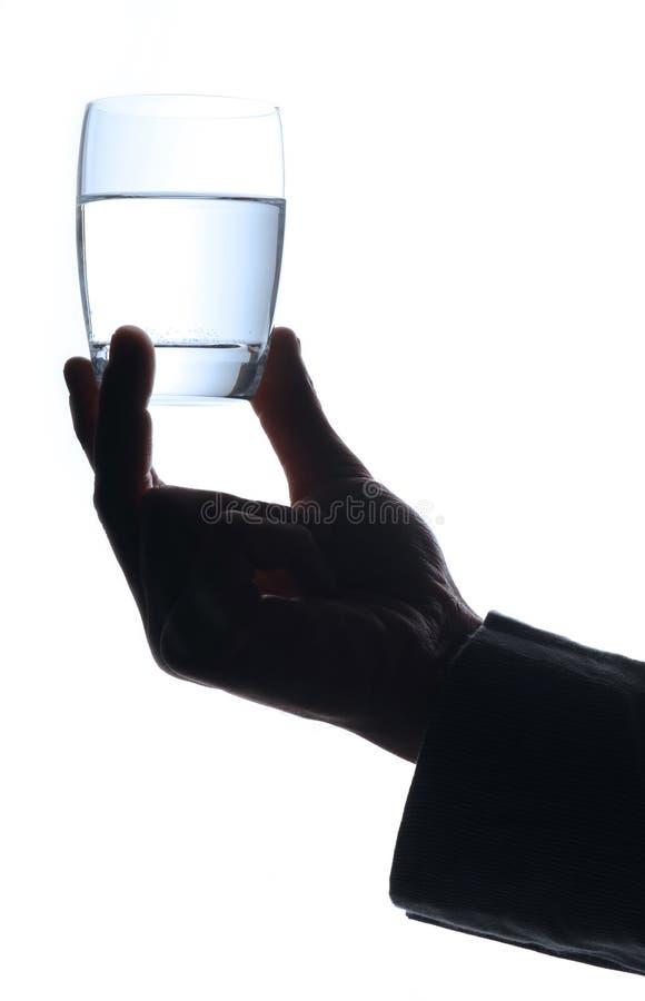 Agua de cristal fotos de archivo