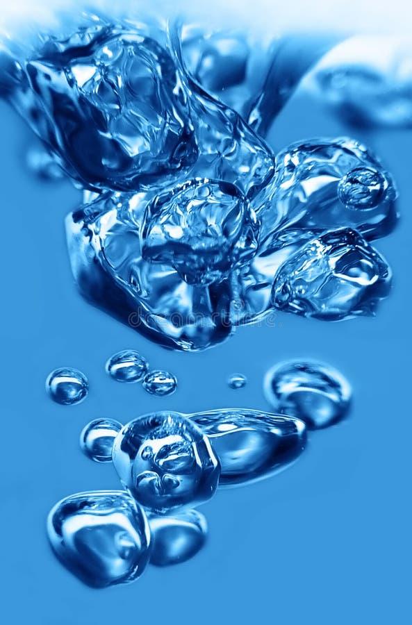 Agua de la burbuja imagenes de archivo