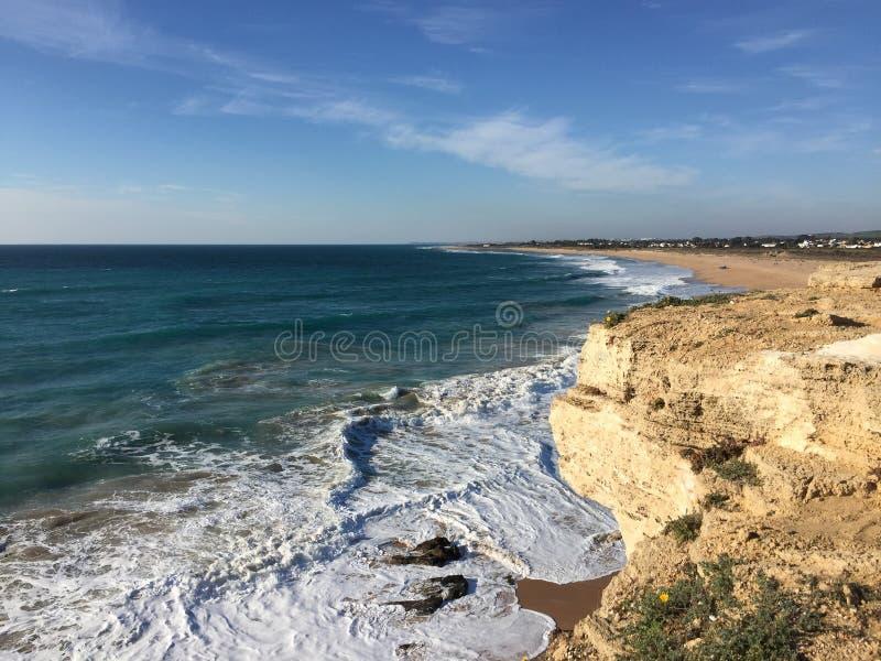 Agua de la playa imagen de archivo