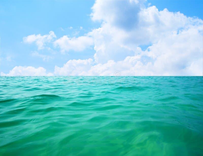 Agua de los océanos fotos de archivo libres de regalías