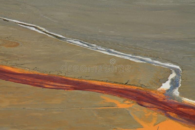 Agua de mina contaminada en Rosia Montana 2