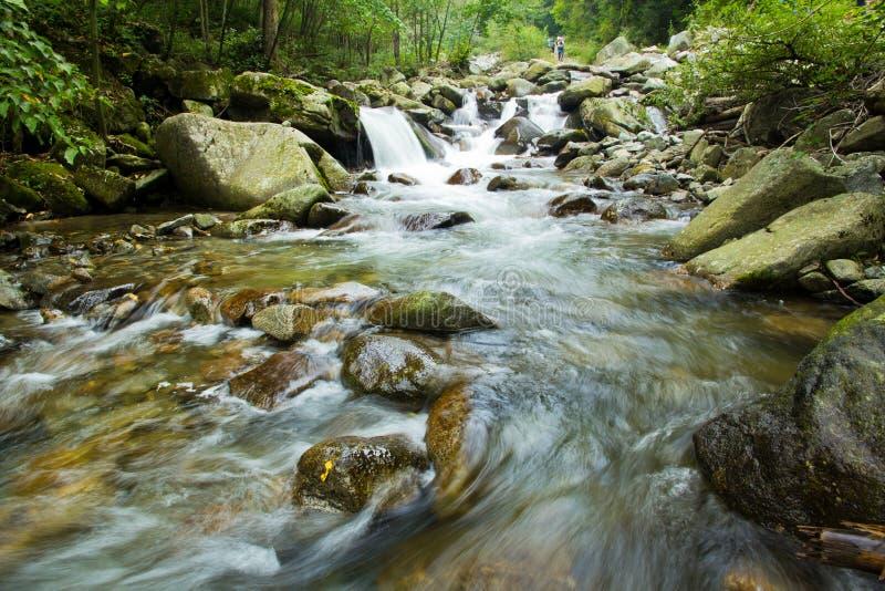 Agua de río foto de archivo