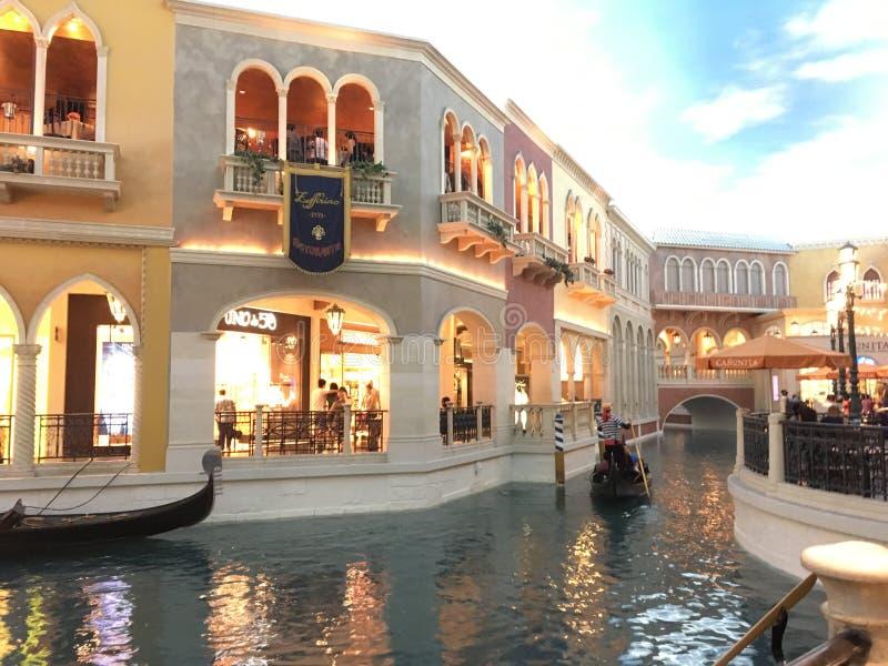 Agua de Vegas foto de archivo
