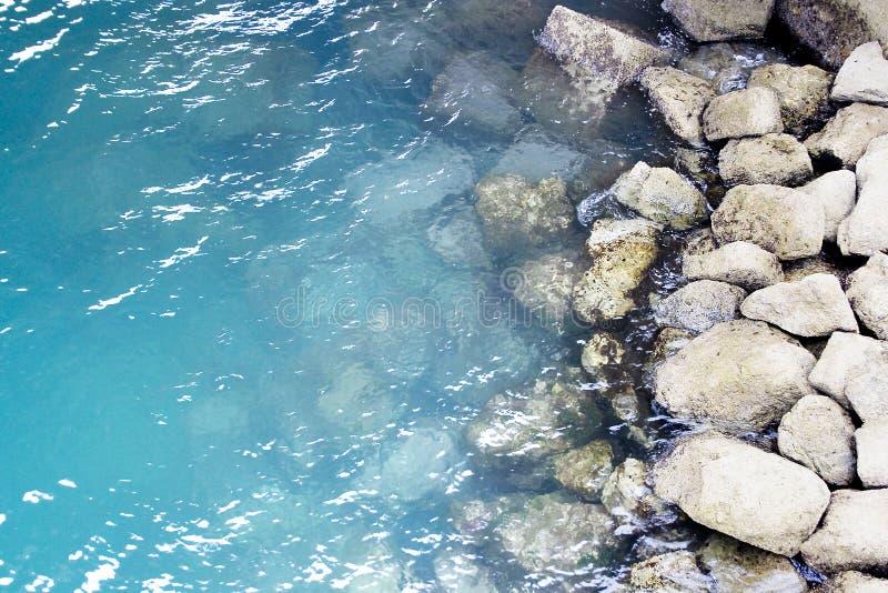 agua del océano de la orilla de mar fotografía de archivo