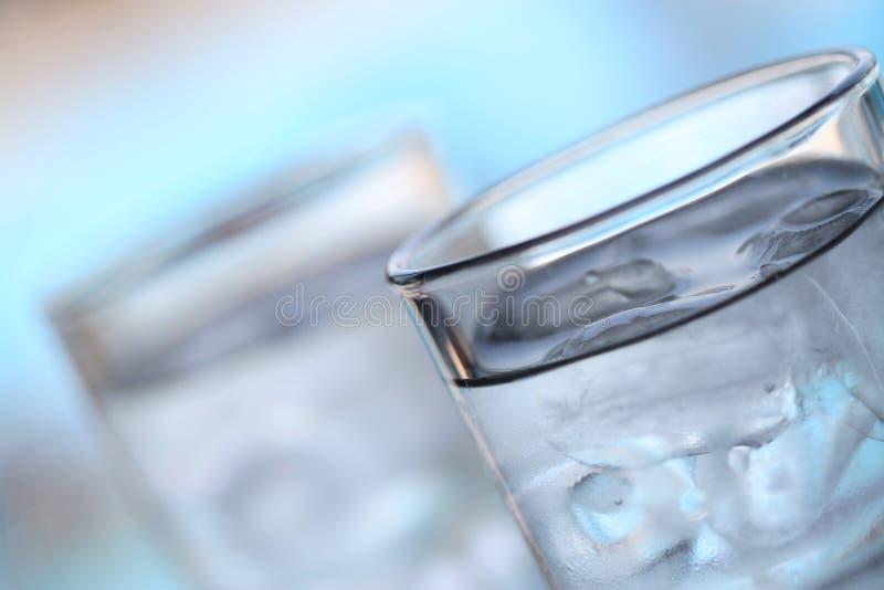 Agua e hielo fotos de archivo