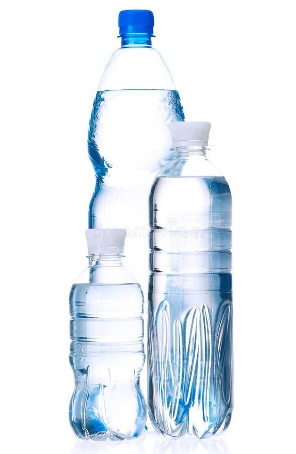 Agua embotellada foto de archivo libre de regalías