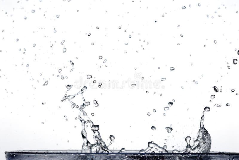 Agua en agua imagenes de archivo