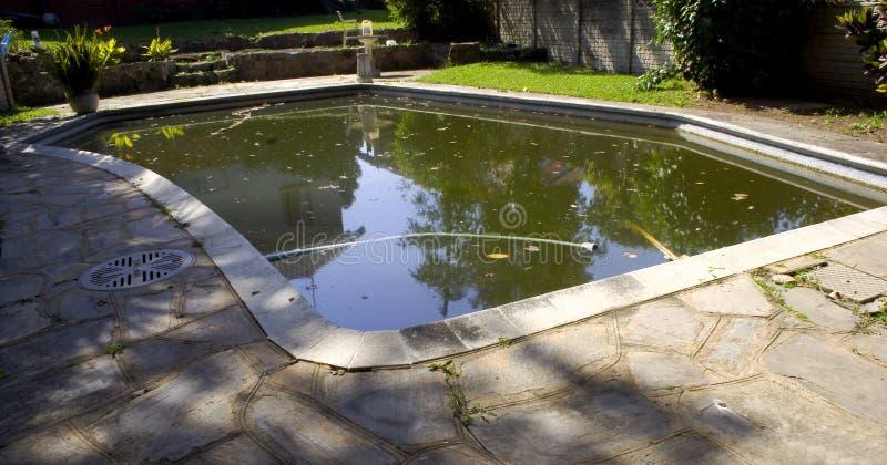 Agua estancada imagen de archivo