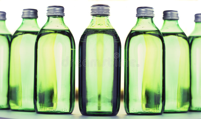 Agua mineral imágenes de archivo libres de regalías