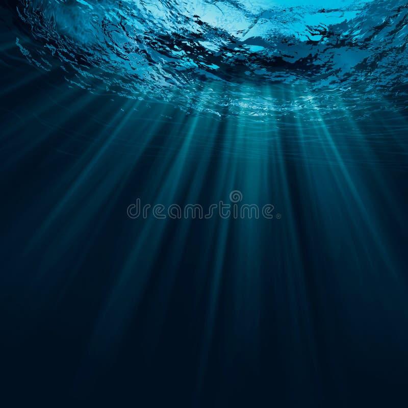 Agua profunda fotografía de archivo
