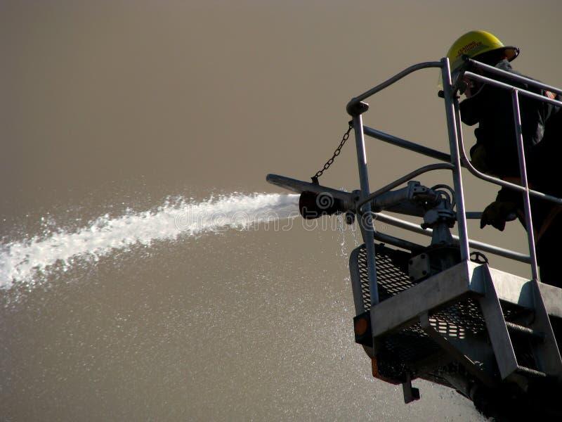 Download Agua Que Pinta (con Vaporizador) Del Bombero Foto de archivo - Imagen: 6195644