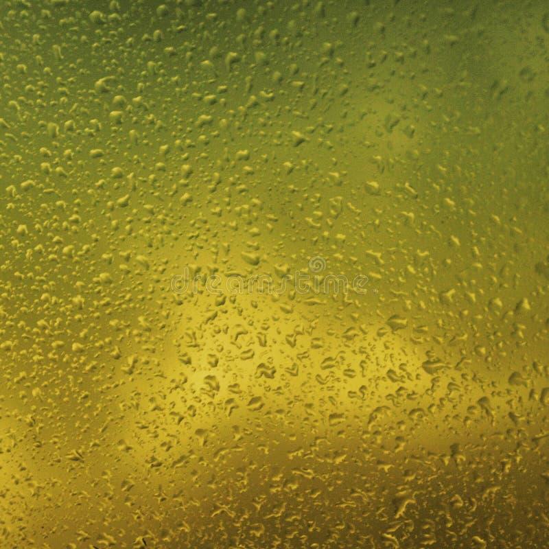 Agua sobre los vidrios imagen de archivo