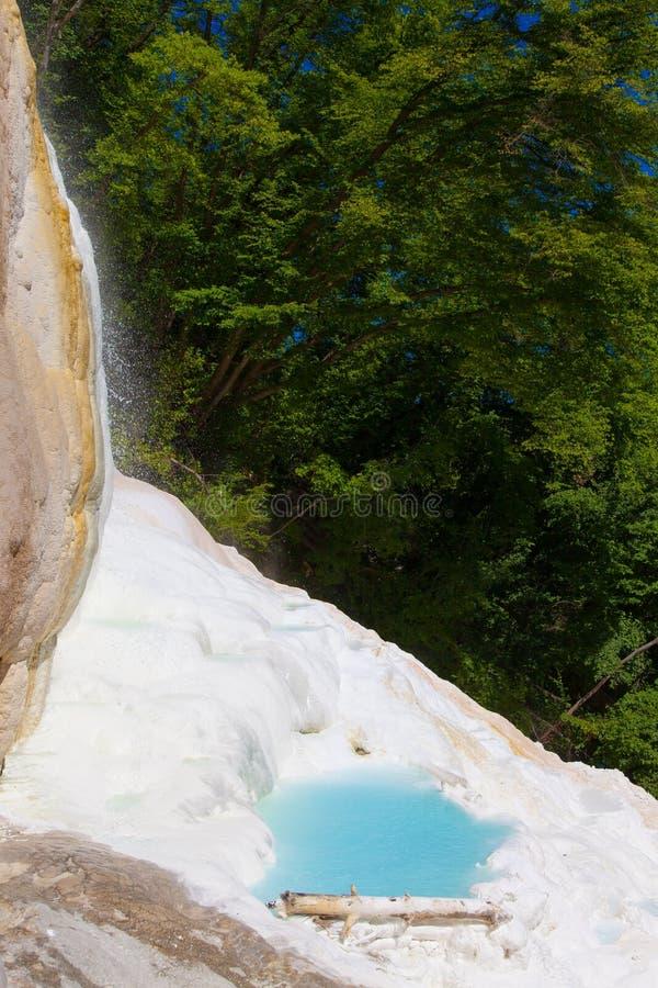 Agua termal fotos de archivo
